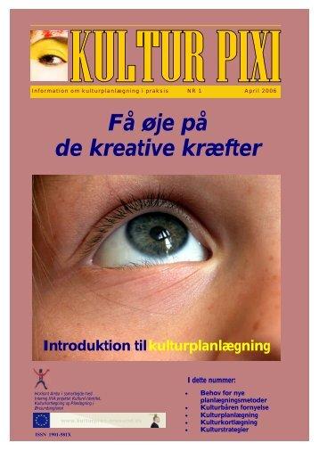 Kultur PIXI nr. 1 - Kulturplanlægning