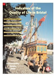 Indicators of the Quality of Life in Bristol