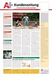 A+ Kundenzeitung - ENGEL APOTHEKE