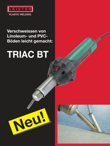 TRIAC BT Boden-Set - Leister