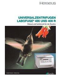 labofuge® 400 r - Zefa-Laborservice