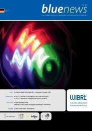2011 Das WIBRE Magazin. Neuheiten. Informationen. Einblicke. Nr ...