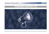 technik & installation springbrunnen-scheinwerfer 4.0130 - Wibre