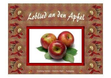 Loblied an den Apfel