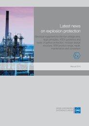 Latest news on explosion protection - VEM Gruppe