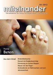 Ausgabe 03 / 2012 - evangelisch in Unteröwisheim