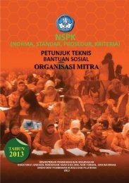 Petunjuk Teknis Bantuan Sosial Organisasi Mitra ... - Kemdikbud