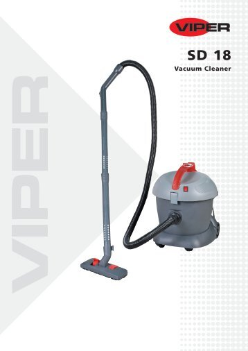 Vacuum Cleaner - VIPER - Cleaning Machines - Machines for ...