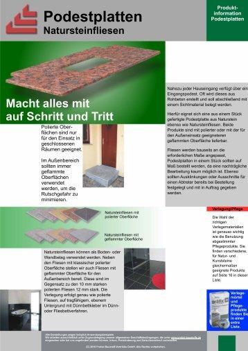 pdf ( 83 KB) - Probst Baustoff Vertriebs GmbH