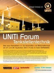 UNIT Forum Tankstellentechnik - Tokheim Service-Gruppe