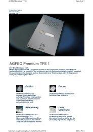 Agfeo Premium TFE 1