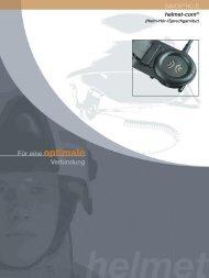 helmet-com® SAVOX® HC-E