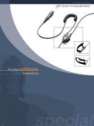 SAVOX® R-C300 Com-System für Spezialeinsätze
