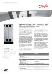 VLT® Advanced Active Filter AAF 005 - Danfoss