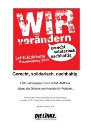 Diskussionspapier Leitbild Februar 2012 - PDF 479 K - Die Linke.