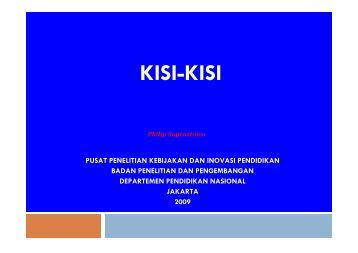 Kisi-Kisi Studi Eksplorasi Research and Development (Kegiatan ...