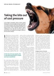 Taking the bite out of cost pressure
