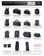 2014 CALLAWAY CUSTOM LOGO GUIDE - Page 5