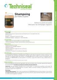 Shampoing - Techniseal
