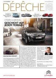 Dépêche 1. Quartal 2012 [PDF] - Citroën