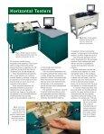 Horizontal Tensile Tester - Tinius Olsen - Page 2
