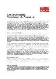Klangspuren Mobil 2012 - Klangspuren Schwaz