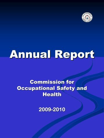 REPORT ON 2009-2010 - Department of Commerce