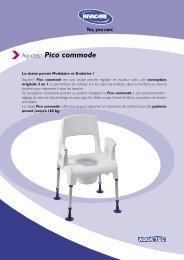 Aquatec® Pico commode - Mediservice