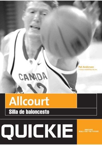 catálogo quickie all court.pdf - Ortoweb