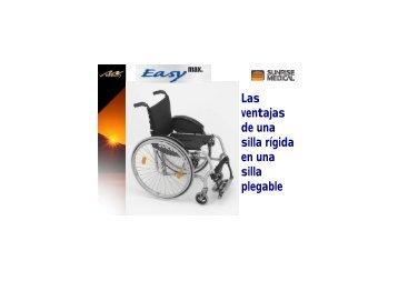 Las ventajas de una silla rígida en una silla plegable