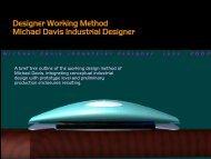 Designer Working Method--Current Process of Michael ... - Headstuf
