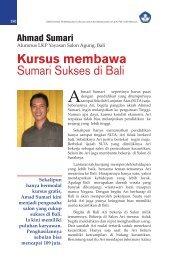 Kursus membawa Sumari Sukses di Bali - Ditjen PAUDNI