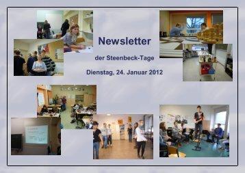 Dienstag-Newsletter - Max Steenbeck Gymnasium