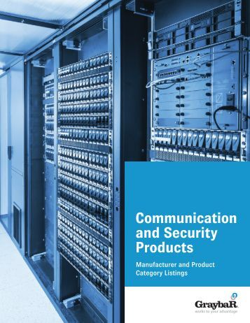 Communication and Security Products