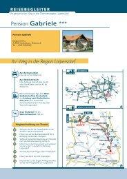 Ihr Weg in die Region Loipersdorf Pension Gabriele ***
