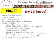 OPINION PUBLIQUE EUROPEENNE - Bautier.fr