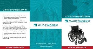 manual wheelchair manual wheelchair limited lifetime warranty ...