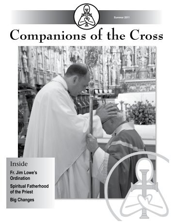 Summer 2011 - Companions of the Cross