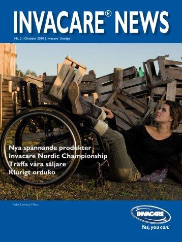 Invacare News 2 2010
