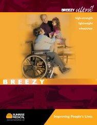 Breezy Ultra 4 Brochure - Quickie-Wheelchairs.com