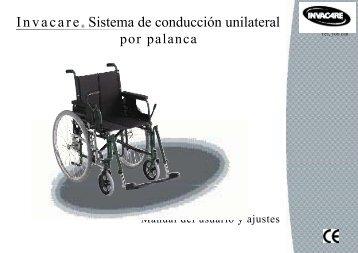 Invacare® Sistema de conducción unilateral