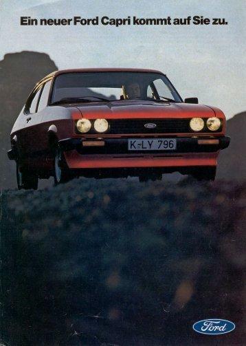 Ford Capri III - Niemcy - 01.1978 - Capri.pl