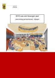bijlagen van het jaarverslag - Gemeente Schiedam