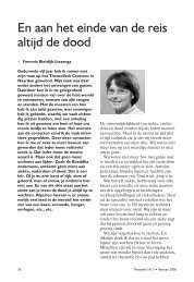 Theosofia jaargang 101/nr 1, februari 2000 - Theosofische ...