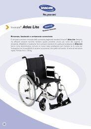 Invacare® Atlas Lite - Ortopedia Paoletti