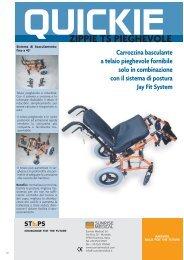 Quickie ZIPPIE TS PIEGHEVOLE - Ortopedia Paoletti