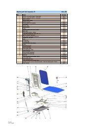 Aquatec bathlifts spare parts - revised 20080201 - Invacare