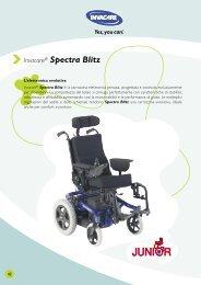Invacare® Spectra Blitz - Ortopedia Paoletti