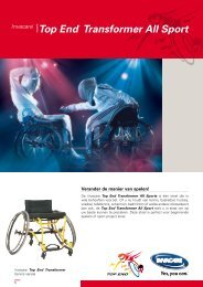 Top End® Transformer All Sport - Invacare