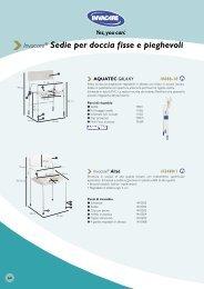 Invacare® Sedie per doccia fisse e pieghevoli - Ortopedia Paoletti
